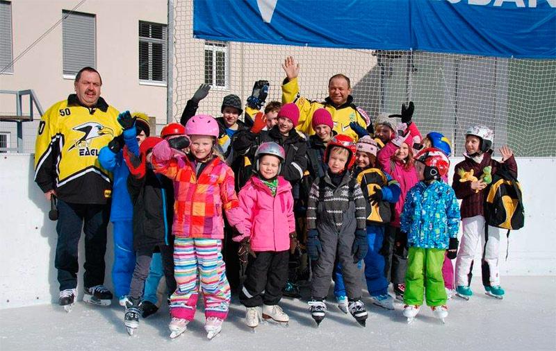 KEV Eislaufplatz Eröffnung