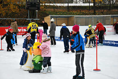 KEV Eislaufplatz Krems Kindereislaufen